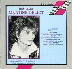 Sonate en trio : Allegro non troppo - pour flute alto et harpe - MARTINE GELIOT