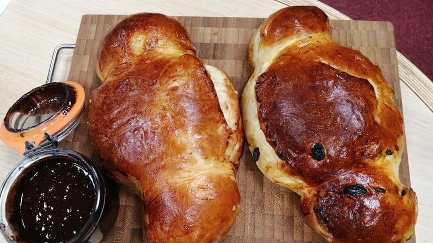 coquille et pâte à tartiner maison