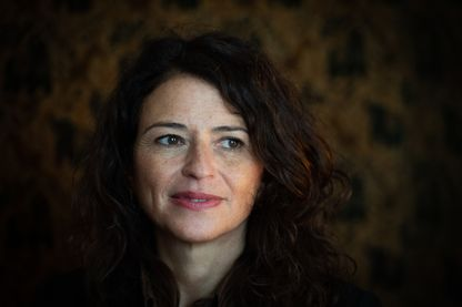 """Karine Tuil à la réception du Prix Interallié pour  """"Les choses humaines"""" à Paris le 13 novembre 2019"""