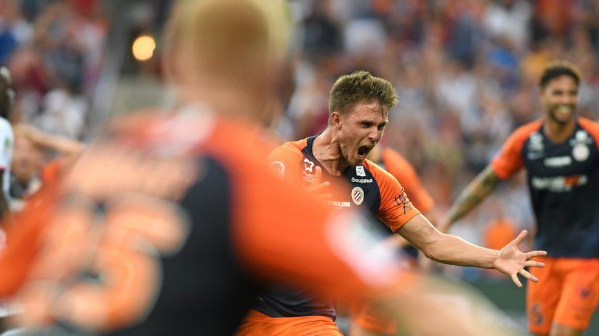 Parmi les 10 buts retenus, celui d'Arnaud Souquet le 27 août contre Lyon au stade de la Mosson