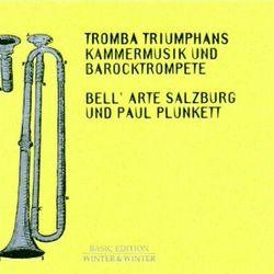 Sonate a 6 - pour trompette naturelle 2 violons baroques violon viole alto basse de viole et basse continue - ENSEMBLE BELL'ARTE DE SALZBOURG