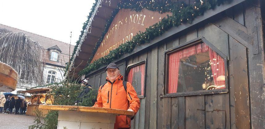 Alain Boutonnet, président du comité des fêtes, est satisfait de l'édition 2019 des Lumières de Noël de Montbéliard