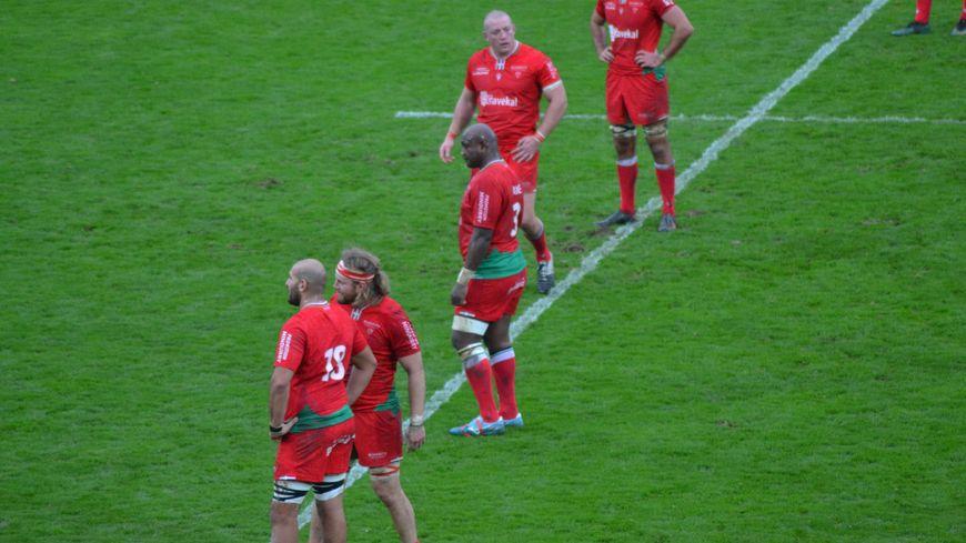A la mi-temps Biarritz perdait 13-10 sur la pelouse du stade Michel Bendichou
