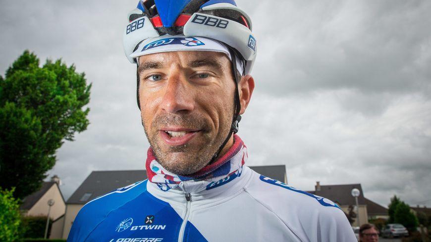 Le coureur cycliste berrichon William Bonnet.