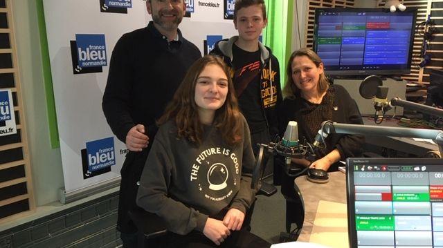 Béatrice Rabelle et ses enfants : Zélie Besnard, Séraphin Besnard avec Richard Gauthier