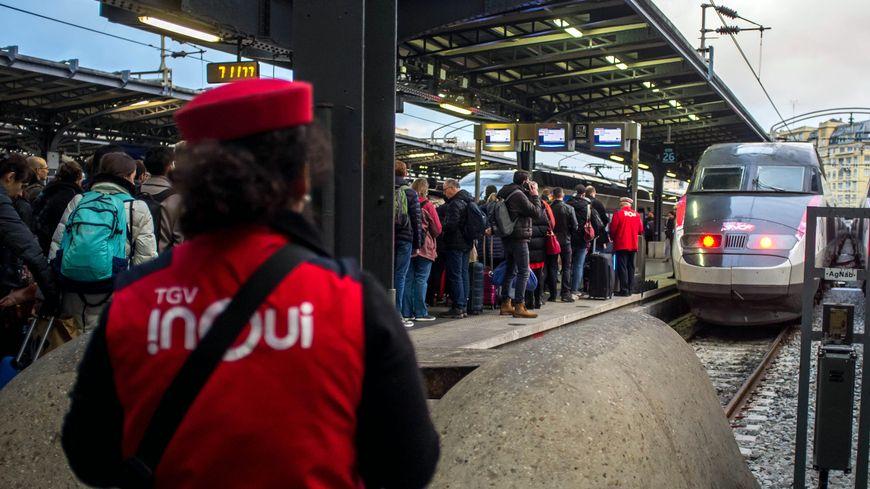 Près de la moitié des TGV circuleront les 30 et 31 décembre, 35% seront sur les rails le 1er janvier 2020