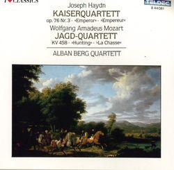 Quatuor a cordes n°17 en Si bémol Maj K 458 la chasse : Allegro assai - QUATUOR ALBAN BERG