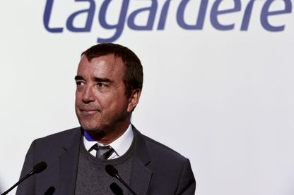 Arnaud Lagardère, dirigeant du Groupe Lagardère