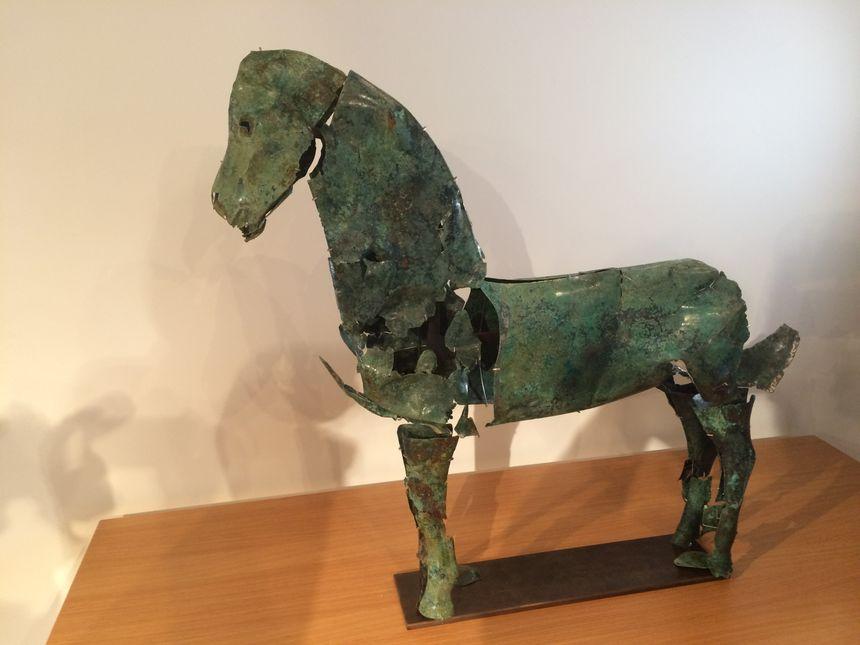 Ce mystérieux cheval permet de se rendre compte de l'art du travail du métal qu'avaient les Gaulois