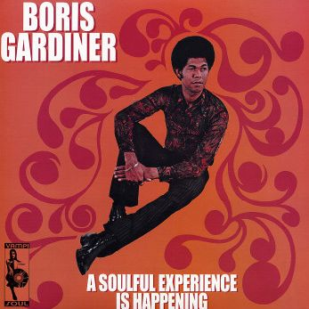 "Pochette pour ""Happiness is a warm pussin' - Boris Gardiner"""