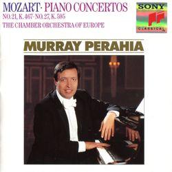 Concerto pour piano n°21 en Ut Maj K 467 : 2. Andante - MURRAY PERAHIA