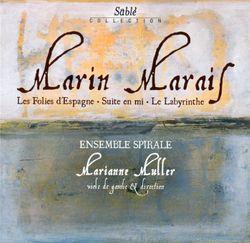 Les folies d'espagne en ré min  - 32 variations / Theme et variations pour basse de viole theorbe guitare baroque et clavecin / Pieces de violes livr - DIVERS