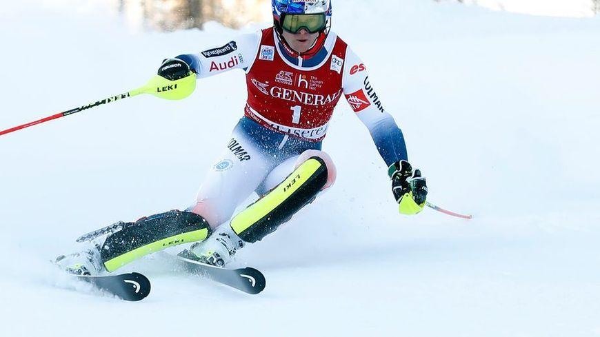 Alexis Pinturault apte à skier samedi à Bormio.
