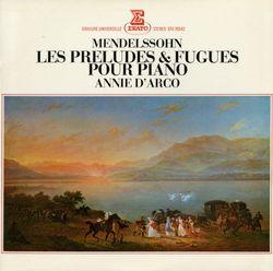 Prélude et fugue pour piano en si min op 35 n°3 - ANNIE D'ARCO