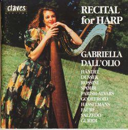 Sonate pour harpe : Allegro brillante - Gabriella Dall'Olio
