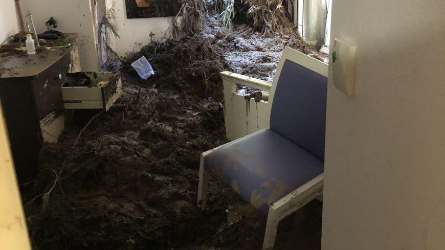 L'Ehpad de Pégomas, situé à flanc de colline, victime d'une coulée de boue dimanche soir