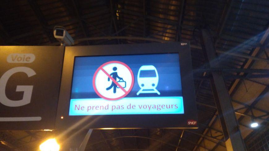 La grève se poursuit à la SNCF.