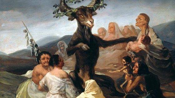 Le Sabbat des sorcières de Francisco de Goya (1797)