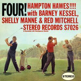 """Pochette de l'album """"Four!"""" par Hampton Hawes"""