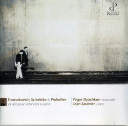 Sonate n°1 : Presto / Pour violoncelle et piano - YEGOR DYACHKOV