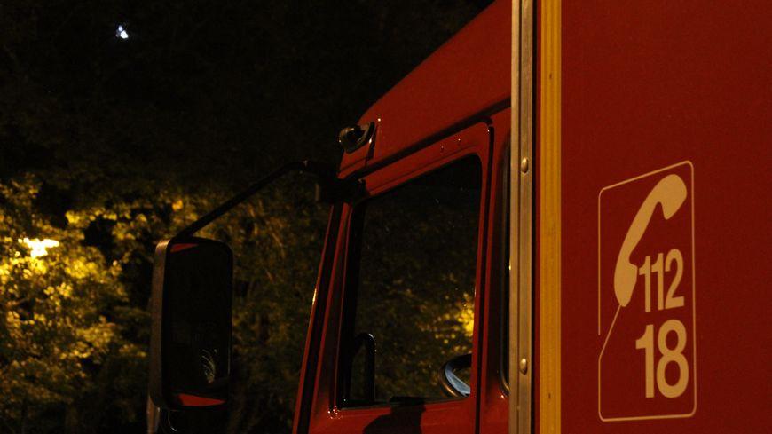 Les pompiers en intervention la nuit (illustration)