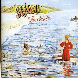 """Pochette de l'album """"Foxtrot"""" par Genesis"""