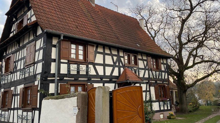 Soultz-sous-Forêts, quartier du Frohnacker