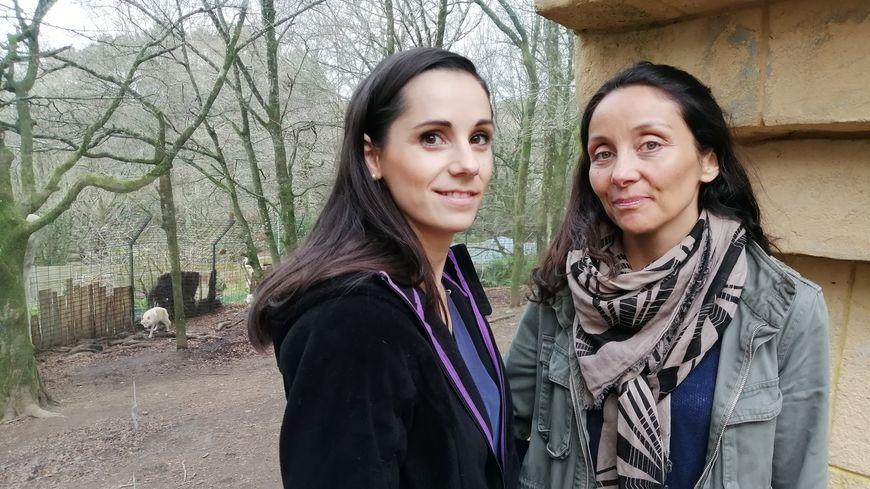 Perrine Crosmary et Lorane Mouyzon, deux des coprésidentes de Rewild