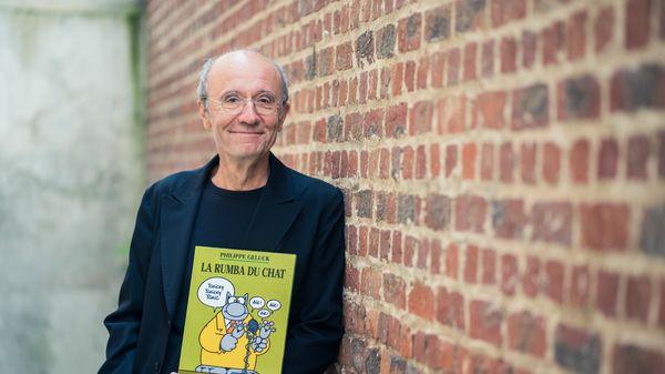Philippe Geluck, peintre, sculpteur, humoriste, chroniqueur et dessinateur du Chat