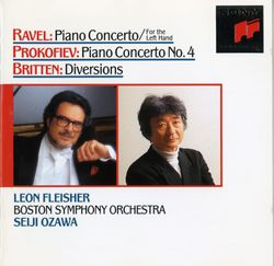 Diversion op 21 pour la main gauche du piano et orchestre : Variation n°3 March. Allegro con brio - LEON FLEISHER