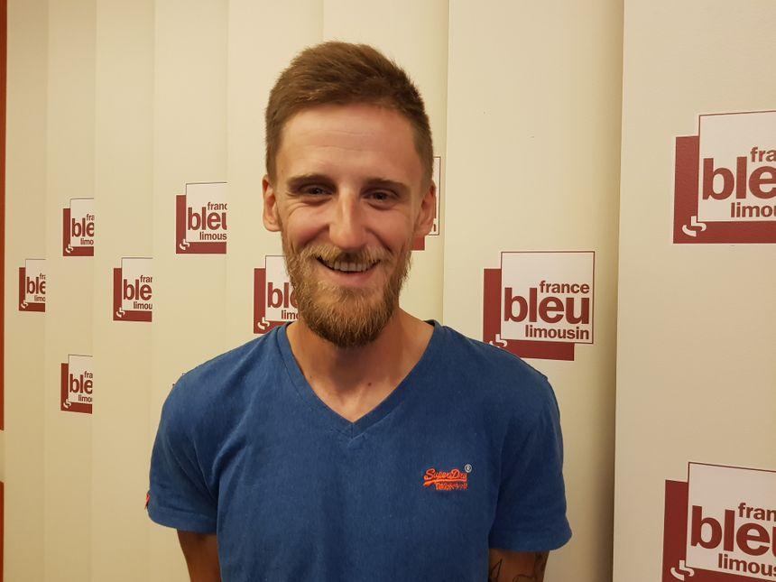 Julien Barret, animateur pour La Fédération de Haute Vienne pour la Pêche et la Protection du Milieu Aquatique
