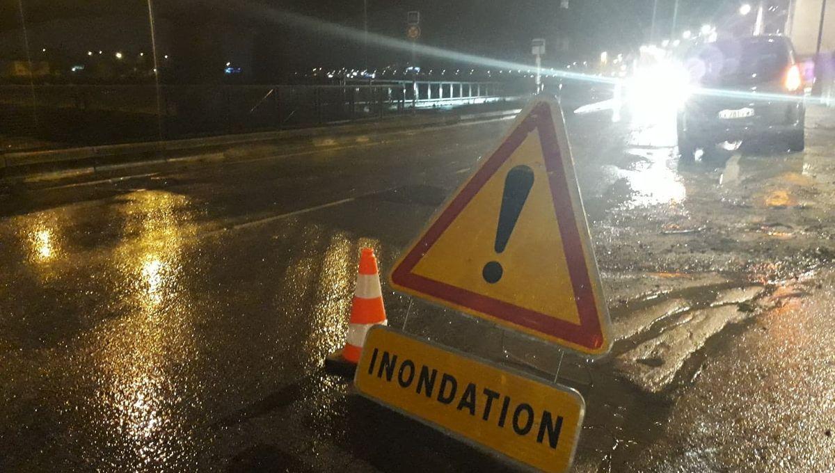 Fait Divers Saint Pee Sur Nivelle intempéries au pays basque : de nombreuses routes inondées
