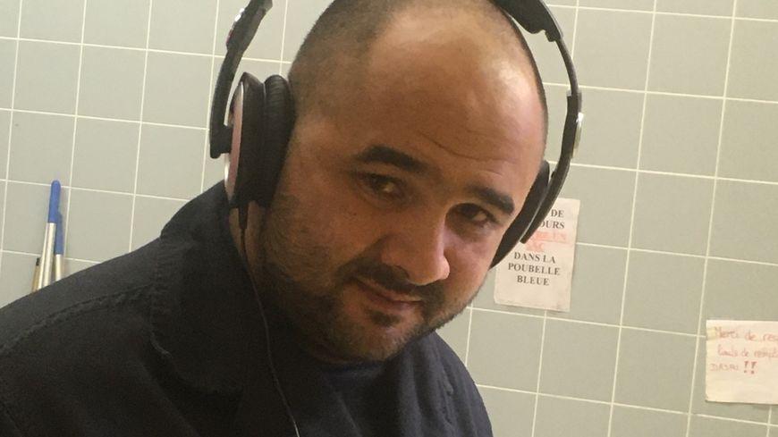 Anthony Verdier adjoint au Chef de centre de Chénérailles