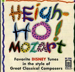 Blanche-Neige et les sept nains : Heigh-ho - pour flûte et quatuor à cordes à la manière de Wolfgang Amadeus Mozart - EUGENIA ZUKERMAN