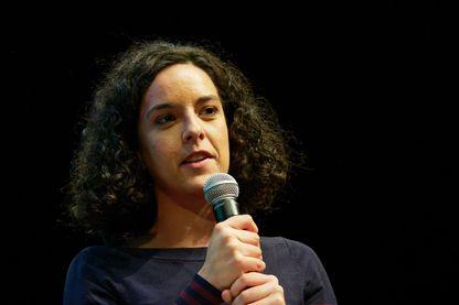 Manon Aubry, députée de la France Insoumise le 16 décembre 2019 à Paris.