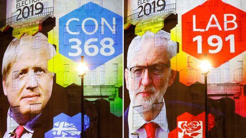 Législatives au Royaume-Uni : les conservateurs de Boris Johnson vers la majorité absolue