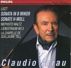Années de pèlerinage 1ère année Suisse S 160 : Chapelle de Guillaume Tell - pour piano - CLAUDIO ARRAU