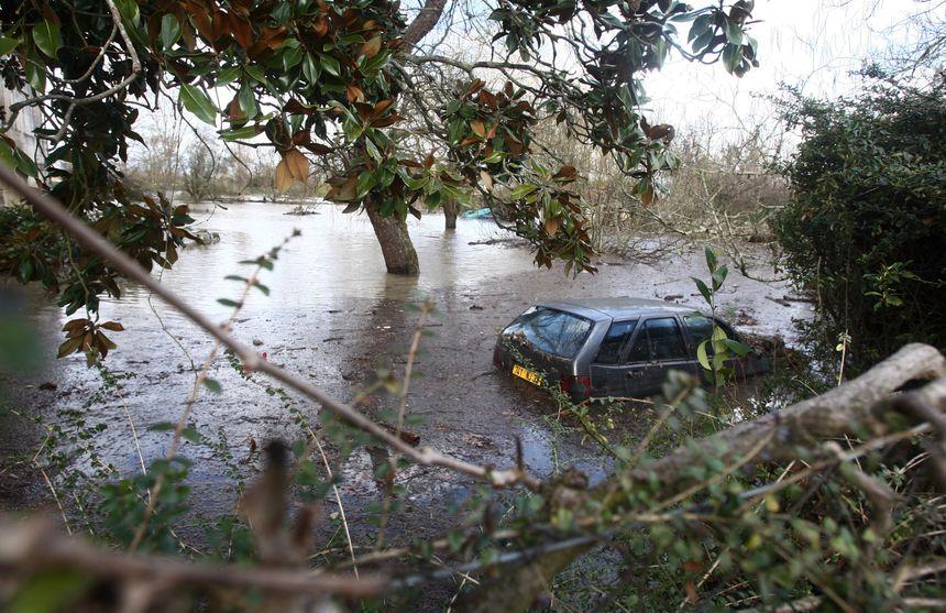 La commune de Saint-Louis-de-Montferrand avait été inondée.