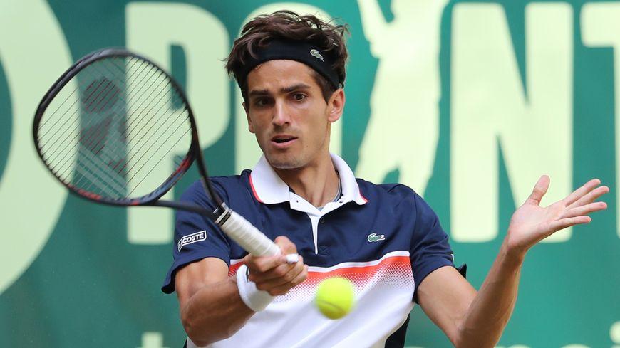 Pierre-Hugues Herbert au tournoi de Halle (Allemagne), le 22 juin 2019