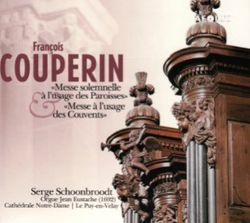 Messe à l'usage des paroisses pour orgue : Plein chant du 1er Sanctus en canon - Serge Schoonbroodt