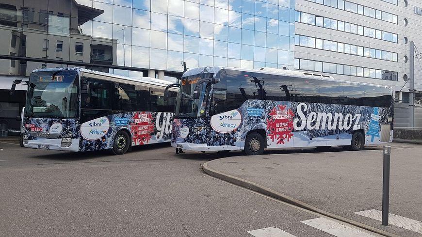 Le Grand Annecy et la Sibra ont lancé trois nouvelles lignes de bus pour aller skier au Semnoz et aux Glières.