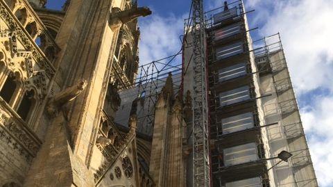 Les travaux de la cathédrâle de Bayeux
