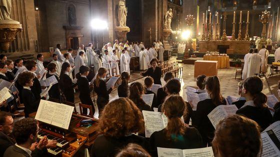 Le jeune ensemble de la Maîtrise de Notre-Dame