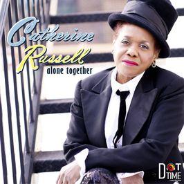 """Pochette de l'album """"Alone together"""" par Catherine Russell"""