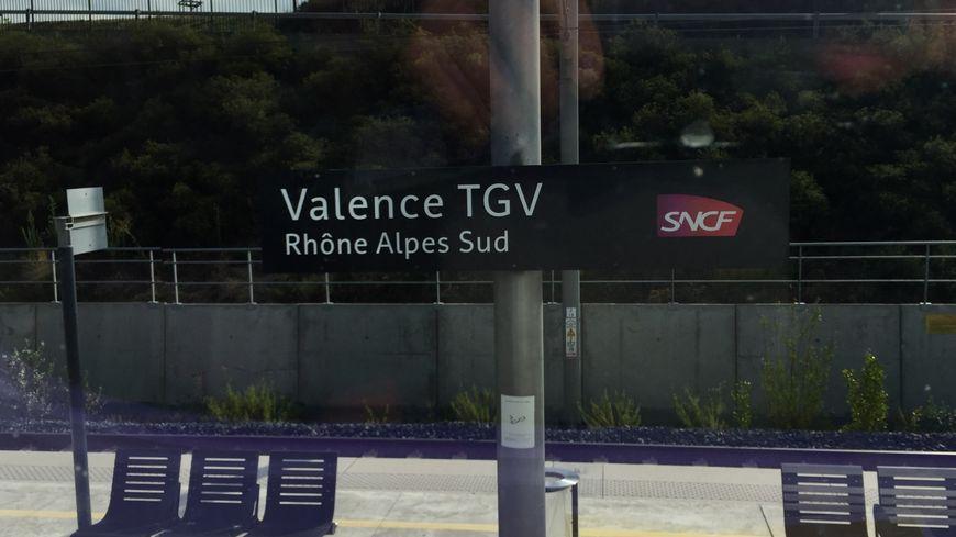 La gare SNCF de Valence TGV dans la Drôme
