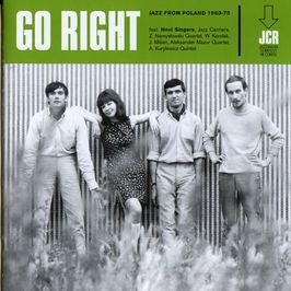 """Pochette de l'album """"Compil./Jazz/Go right/Pologne 1963-1975"""" par Novi Singers"""