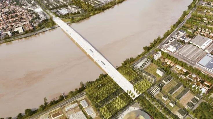 Les travaux du pont Simone-Veil vont pouvoir redémarrer.