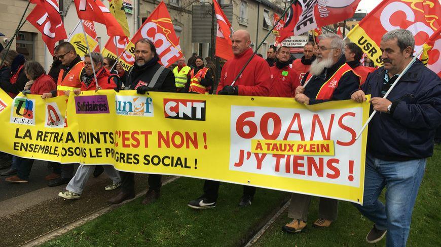 Les opposants à la réforme des retraites au Mans sont prêts à sacrifier les fêtes