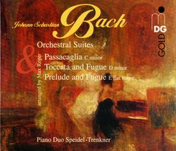 Suite n°2 en si min BWV 1067 pour piano a 4 mains : Polonaise et double - SONTRAUD SPEIDEL