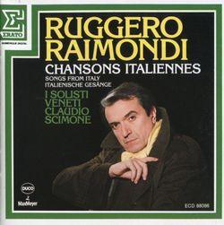 L'ultima canzone - romance de salon pour basse et orchestre - RUGGERO RAIMONDI